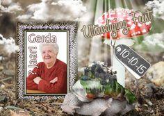 #Uitnodiging.Mooie sfeervolle kaart voor elke gelegenheid!Volg;Herfst feest Jarig lijst b - Uitnodigingen - Kaartje2go