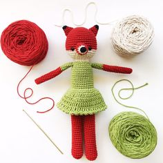 Vera Fox - hechos por Florencia Rodríguez para Kitsune Shop