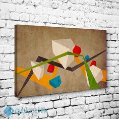 Üç Boyutlu Şekiller #geometrik_tablolar #geometrik_kanvas_tablolar