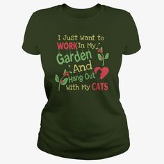 GARDEN AND CATS LOVERS