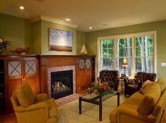 Modern cottage interior design Home Design Living Room, Cottage Living Rooms, Cottage Interiors, Living Room Decor, Cozy Living, Living Spaces, Dining Room, Home Interior, Modern Interior Design