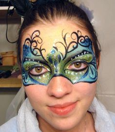 What if we have someone to do facepainting of masks when people arrive, if they don't have one already?