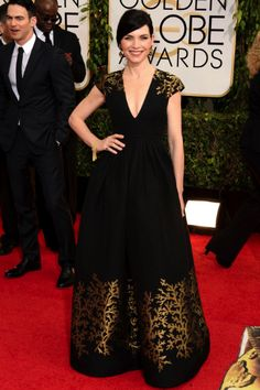 Juliana Margulies in Andrew Jin | Golden Globes 2014 my fave!!