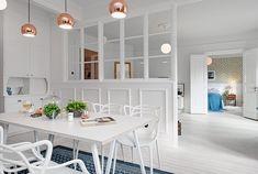 Un sofa perfecto y la cocina de ensueño. Gotemburgo esconde maravillas