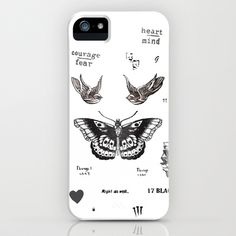 New on our #casesbykate #Society6 store--Harry's Tattoos! Make sure to click through to see it on cases, pillows, mugs, bags, tees & more… #iphonecase by #harrystylestattoo #1D #onedirection #harrystyles #storyofmylife #directioner