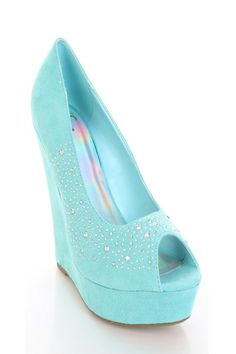 Turquoise Faux Suede Rhinestone Studded Peep Toe Platform Wedges @ Amiclubwear Wedges Shoes Store:Wedge Shoes,Wedge Boots,Wedge Heels,Wedge Sandals,Dress Shoes,Summer Shoes,Spring Shoes,Prom Shoes,Women's Wedge Shoes,Wedge Platforms Shoes,floral wedges,Fa