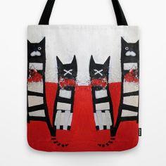 GoodluckGatti Tote Bag by SheThinksinColors   Society6