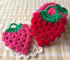 いちごのアクリルたわしの作り方 編み物 編み物・手芸・ソーイング 作品カテゴリ ハンドメイド、手作り作品の作り方ならアトリエ