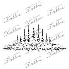 Marketplace Tattoo Sak Yant: Yant Gao Yord Mon #17568 | CreateMyTattoo.com