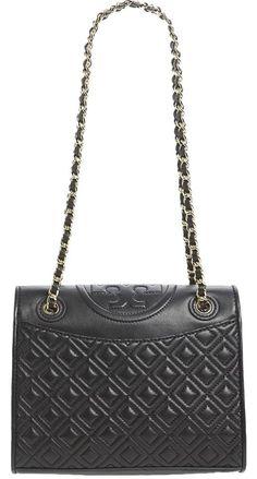 b145efa4d129 Fleming Medium Diamond Quilted W Gift Receipt  save Black Leather Cross  Body Bag
