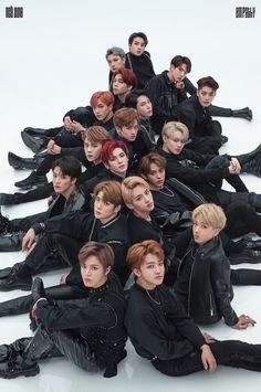'NCT 2018 'Black on Black' Photoshoot All Memebers' Poster by AegyoKings Nct 127, Nct Taeyong, Foto Bts, Winwin, Jaehyun, K Pop, Nct Life, Fandom, Ereri
