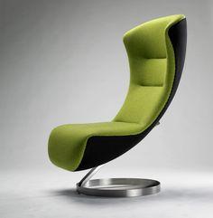 Furniture, Selection For Space Saving Furniture Designs: Modern Space Saving  Lounge Chair Furniture Designing
