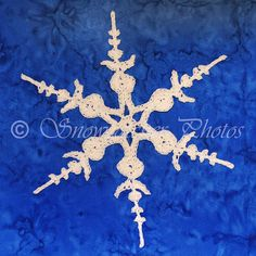 FREE PATTERN ~ Third Down Snowflake ~