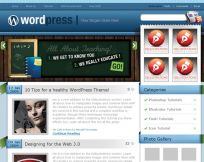 Blues: Wp Theme