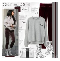 """""""Get the Look: Winter Style !"""" by alves-nogueira ❤ liked on Polyvore featuring MICHAEL Michael Kors and MANGO"""