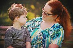 Mother son photo idea. Lauren Davidson Photography.