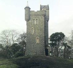 Helen's Tower, Clandeboye Estate, Bangor, Co Down, Northern Ireland. Many of the 36th Ulster Division trained here before posting to France in the Great War, & the Thiepval Tower Memorial on the Somme is modelled on it.