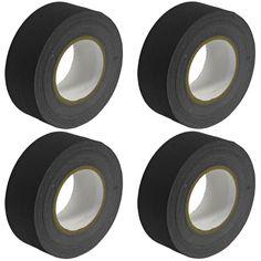 Gaffer's Tape - Black - 2 inch (4 Pack)