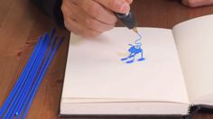 When WobbleWorks announced its 3Doodler pen a couple of years ago, it caused quite a stir. The device allows users to sketch in three dimensions. Now, the company has announced an updated version. The 3Doodler 2.0 is said to be slimmer, lighter, quieter and easier to use.