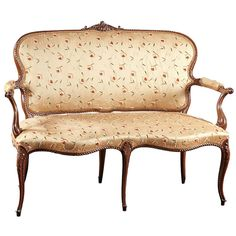 Shop settees and other antique and modern chairs and seating from the world's best furniture dealers. Ottoman Sofa, Settee, Couch, Acanthus, French Decor, 18th Century, Love Seat, Carving, English