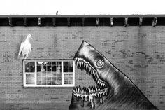 Shark attack by drennsemmi