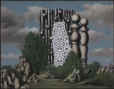 Learn more about The Annunciation by Surrealist artist, Rene Magritte. Rene Magritte, What Is Surrealism, Magritte Paintings, Art Viewer, Arte Popular, Joan Miro, Art Moderne, Conceptual Art, Oeuvre D'art