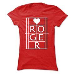 Roger Tennis White On Red - #silk shirt #womens sweatshirts. LOWEST PRICE => https://www.sunfrog.com/Sports/Roger-Tennis-White-On-Red.html?id=60505