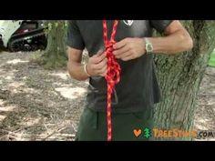 How to Tie Basic Arborist Knots - TreeStuff.com - YouTube