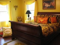Versace Mansion, Hope Chest, Hgtv, Storage Chest, Photo And Video, Cabinet, Mansions, Bed, Furniture