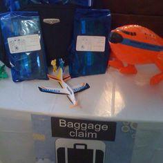 Gift Bags airplane theme