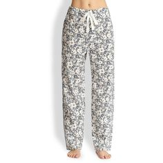 Araks Ally Pajama Pants ($201) ❤ liked on Polyvore featuring intimates, sleepwear, pajamas, cotton pajamas, araks, cotton pj pants, cotton sleepwear and pj pants