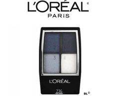Loreal Studio Secrets Professional Eye Shadow Quad 236 Cobalt smokes 2 pack >>> Click on the image for additional details. (Note:Amazon affiliate link) #EyeShadow