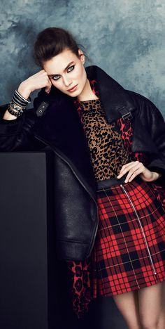 "Tartan Plaid and Leopard! ""Is it Hip to Be Square?"" - article at http://boomerinas.com/2013/11/24/tartan-plaid-clothing-for-women-is-it-hip-to-be-square/"