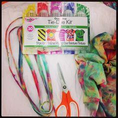 Tie-Dye T-Shirt Necklaces