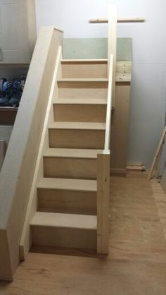 Finally finished my college assesment stairs