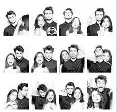 Daniel Radcliffe & Bonnie Wright