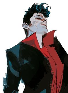 Dylan Dog by Gigi Cavenago (Source: SportWeek - 24 Settembre 2016)