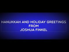 Happy Hanukkah from Joshua Finkel Happy Hanukkah, Current Events, Acting, Holiday, Projects, Log Projects, Vacations, Blue Prints, Holidays