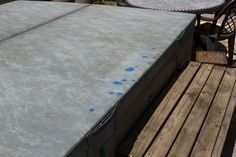 You can use sugru to patch slits and cuts on your hot tub vinyl lid that tend to appear after the winter. sugru patches will prevent water from ruining the lid. Sugru, Simple Way, Tub, Patches, Home Decor, Bathtubs, Decoration Home, Room Decor, Home Interior Design