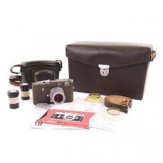 Leica M1 Olive Bundeseigentum Set Rare - Leica M1 - Leica M Mount Cameras - Leica M Mount - Leica - Products
