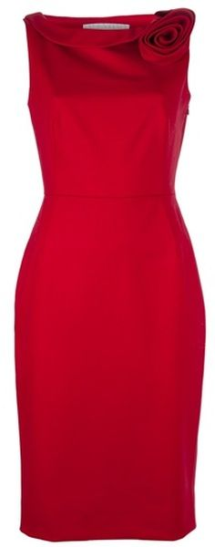 So Mad Man, too sharp and red, over the moon cool. VALENTINO Sleeveless Dress