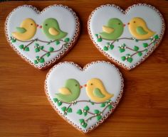 Another beautiful birds cookie