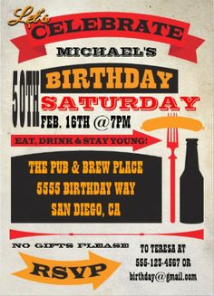 40 best bbq birthday invitations images on pinterest invitations cute retro vintage custom bbq birthday invitation birthdaybbqinvitations filmwisefo