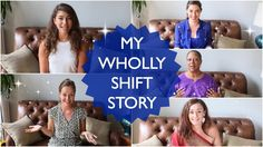 My Wholly Shift Story | Heart Warming Stories from Powerful  Women! JUMP IN to Wholly Shift published 24 Sept 2015