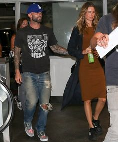 Adam Levine in Ripped Jeans