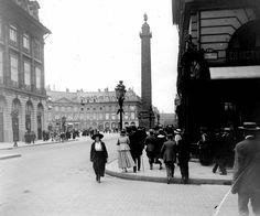 Paris 1916 - Place Vendaume.  aucharbon (@alcarbon68)   Twitter