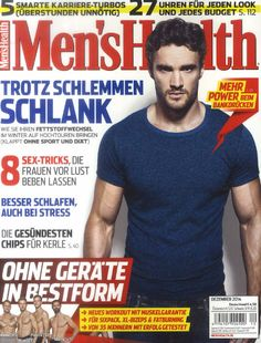 Die neue Men's Health am 27. November 2014