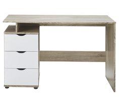 Aster 3 Drawer Desk $129 / 120 X 53