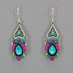 Firefly Mosaic Earrings - Multicolor