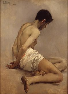 Joaquín Sorolla - At the academy